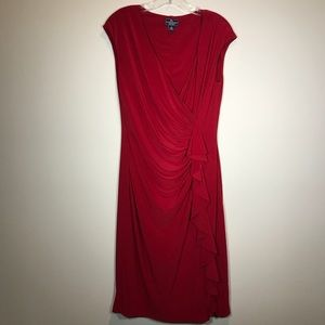American Living Red Stretchy Dress
